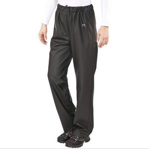 Helly Hansen Weatherproof Rain / Wind Black Ski Pants
